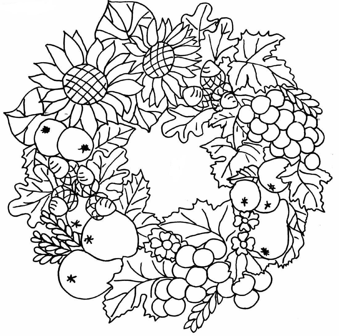 coloriage tchoupi automne
