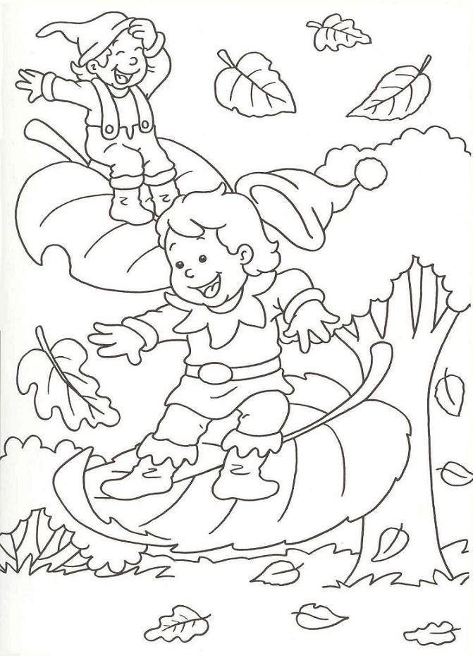 Dessin colorier automne maternelle imprimer - Dessins automne ...