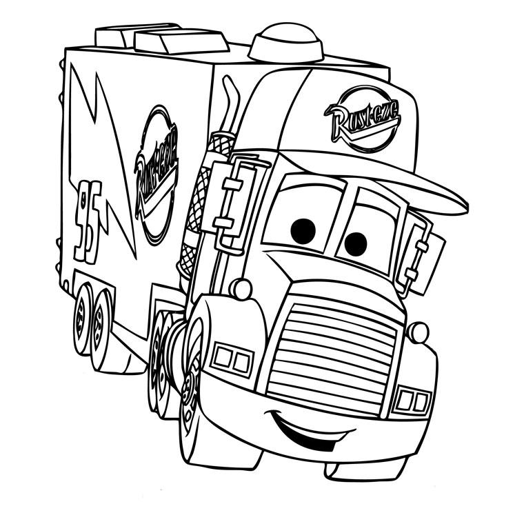 124 dessins de coloriage automobile à imprimer