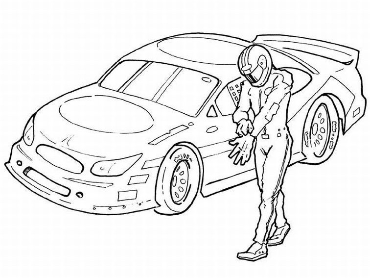 coloriage d'automobile