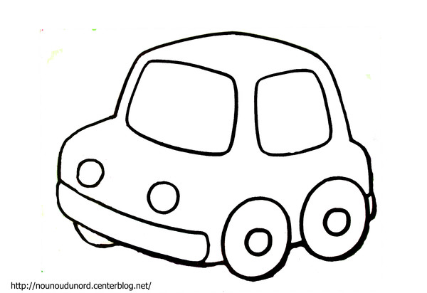 coloriage a imprimer automobile
