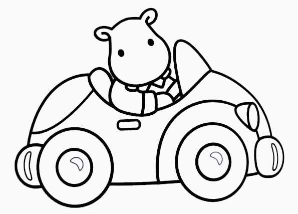 dessin à colorier automobile en ligne