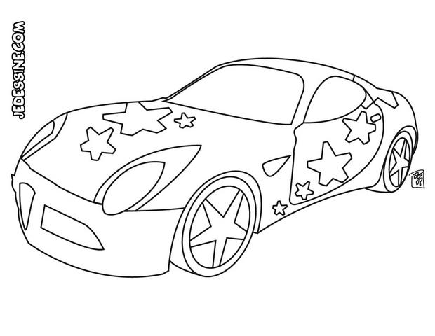 Coloriage A Dessiner Cars Hello Kitty