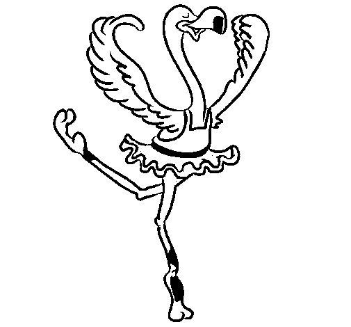autruche coloriage à dessiner imprimer