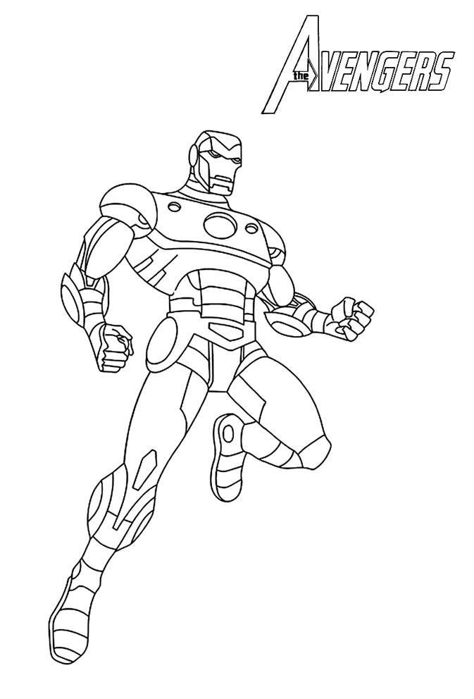 18 Dessins De Coloriage Avengers 224 Imprimer Gratuit 224 Imprimer