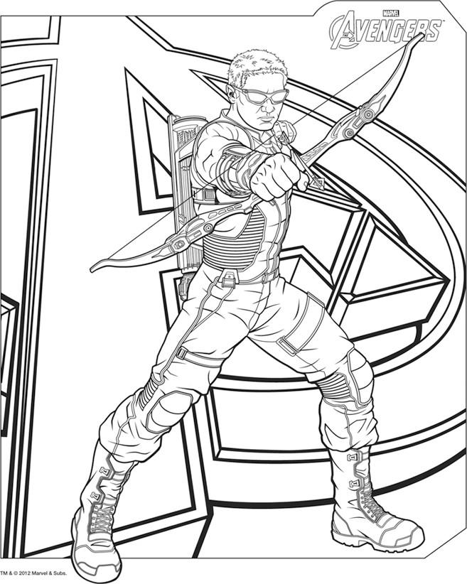 20 dessins de coloriage avengers en ligne imprimer - Coloriages en lignes ...