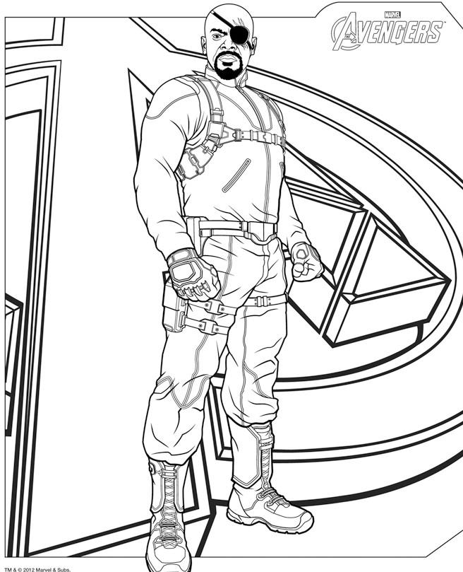 16 dessins de coloriage avengers gratuit imprimer - Dessin avenger a imprimer ...