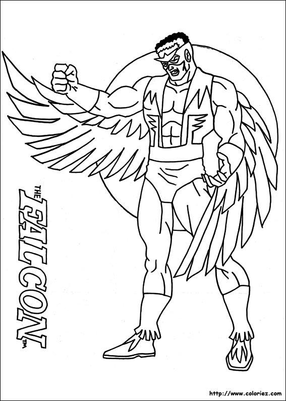 dessin avengers 2 coloriage