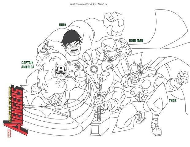 dessin natacha avengers