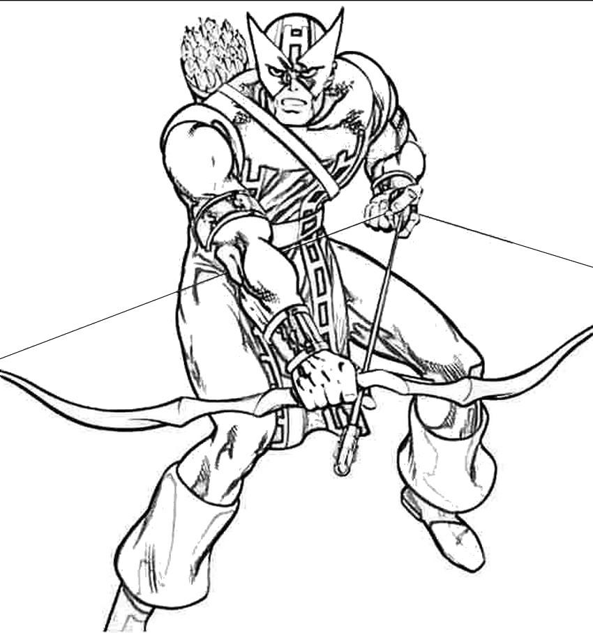 dessin avengers samourai