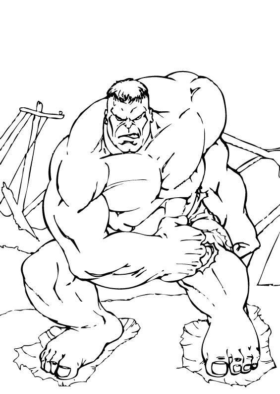 coloriage à dessiner avengers en ligne