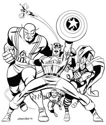 dessin à colorier en ligne avengers gratuit
