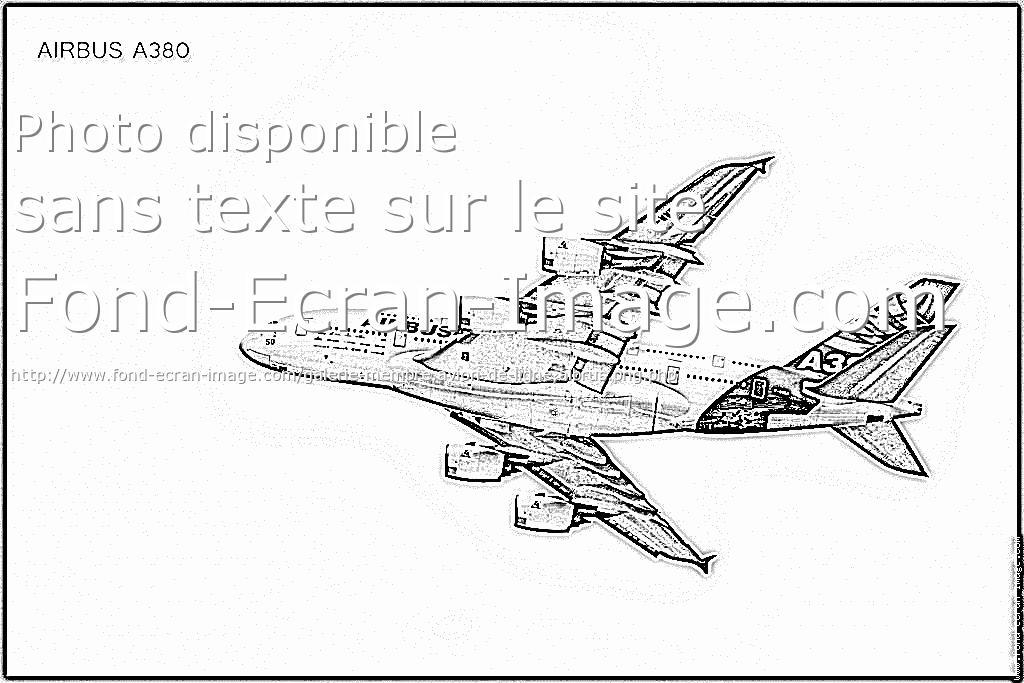 12 Dessins De Coloriage Avion En Ligne A Imprimer Dibujos Para