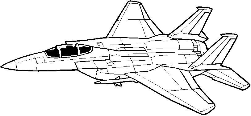 17 dessins de coloriage avion de chasse a imprimer imprimer - Dessin de avion ...