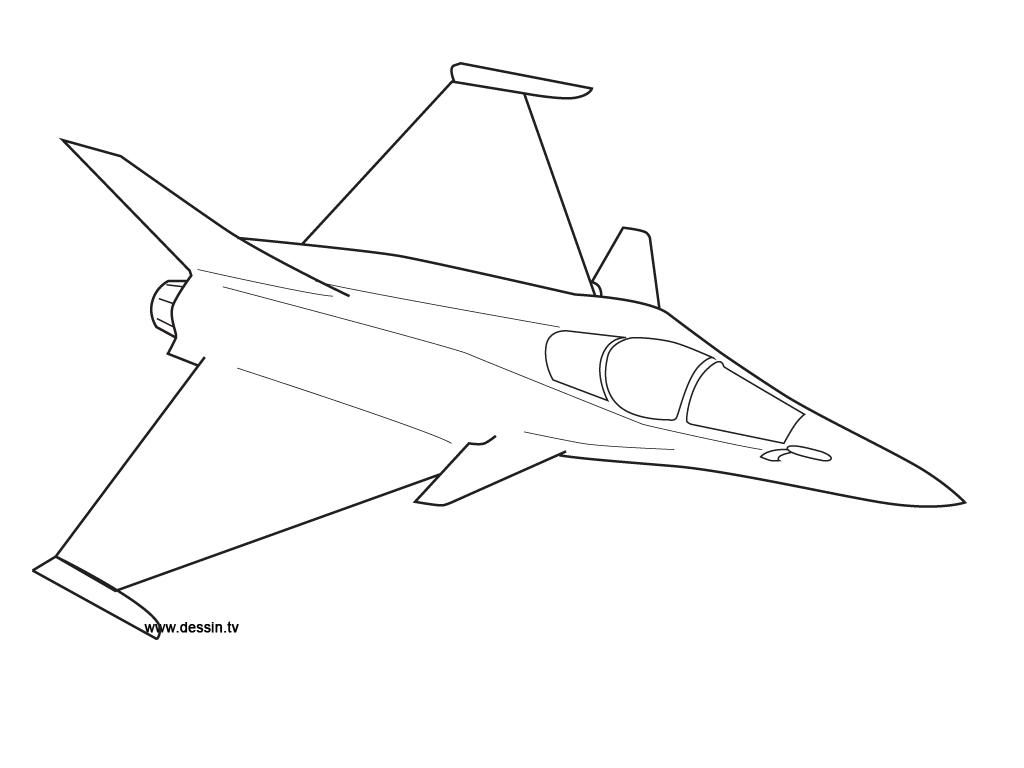 17 dessins de coloriage avion de chasse a imprimer  u00e0 imprimer