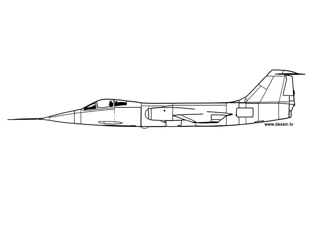 17 dessins de coloriage avion de chasse a imprimer imprimer - Avion en dessin ...