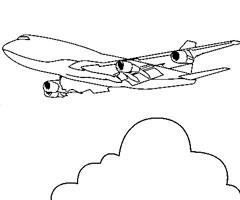Coloriage Avion De Chasse Rafale