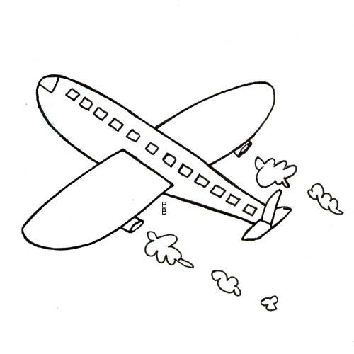 Modele dessin colorier avion - Avion en dessin ...