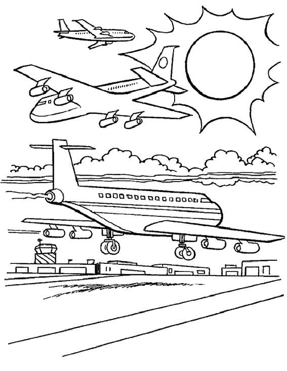 Coloriage Avion Course.Coloriage Avion Course