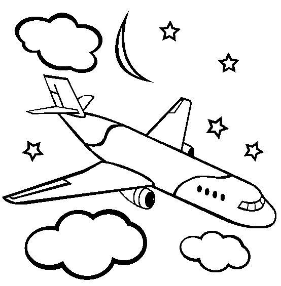 coloriage avion air france