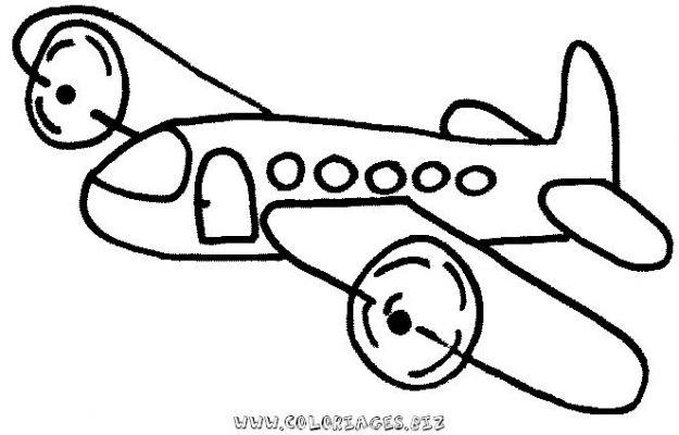 dessin � colorier avion cars 2