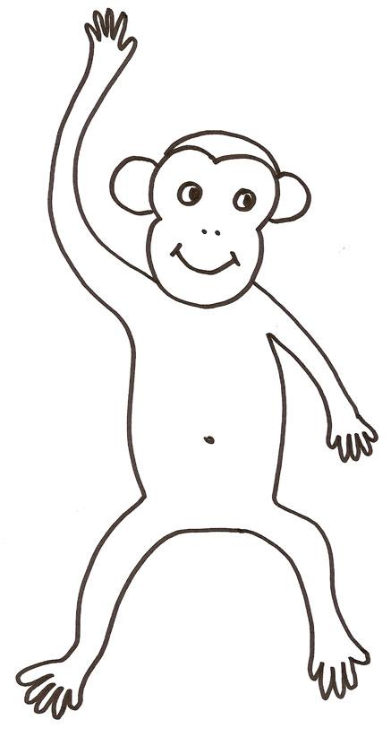 40 dessins de coloriage babouin imprimer - Dessin de babouin ...
