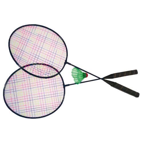 dessin à colorier de badminton