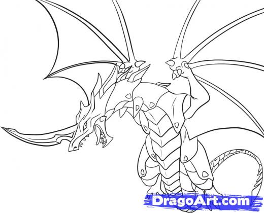 l drago destroy coloring pages - photo #20