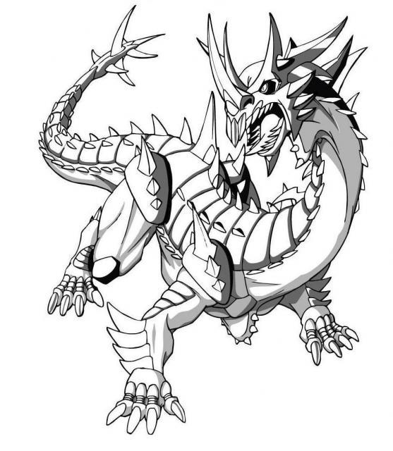 dessin à colorier bakugan saison 4
