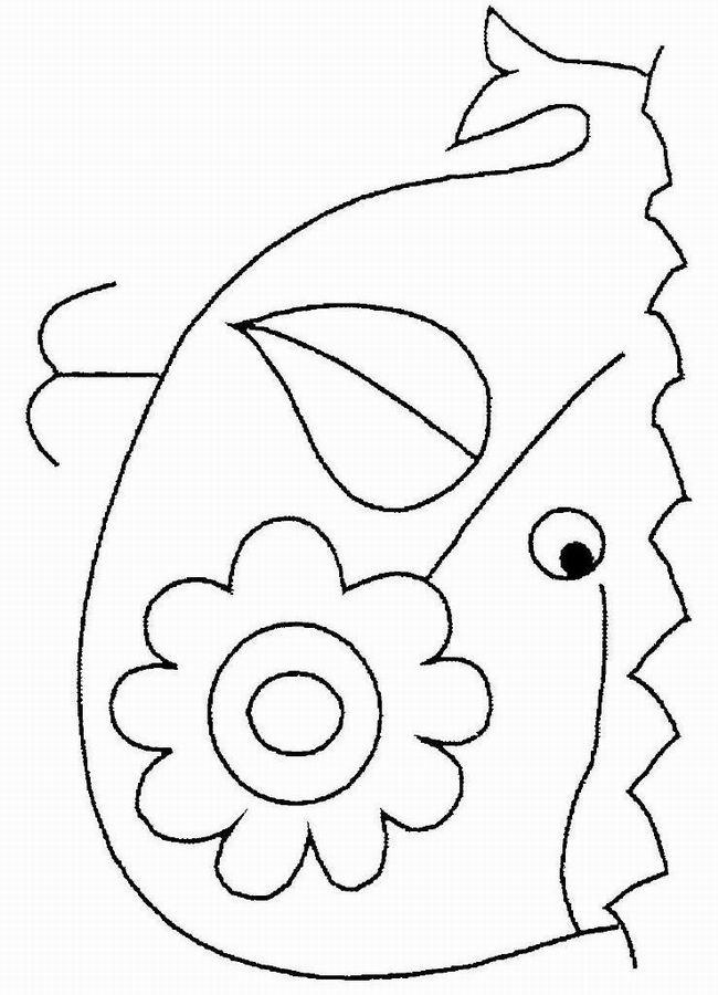 dessin à colorier jonas et la baleine