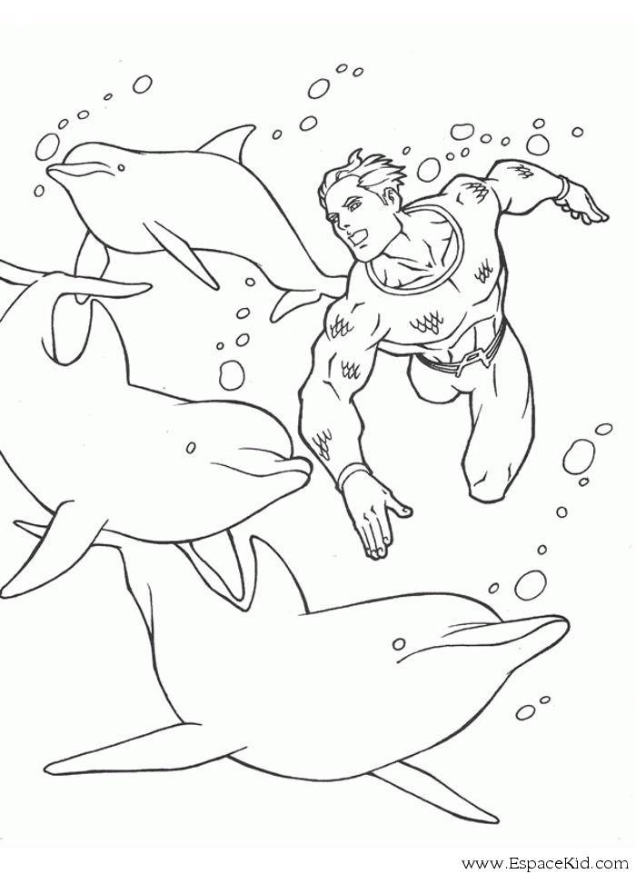 dessin à colorier baleine imprimer