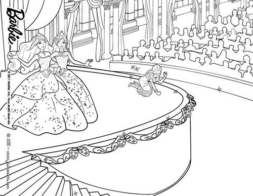 19 Dessins De Coloriage Barbie Apprentie Princesse 224 Imprimer
