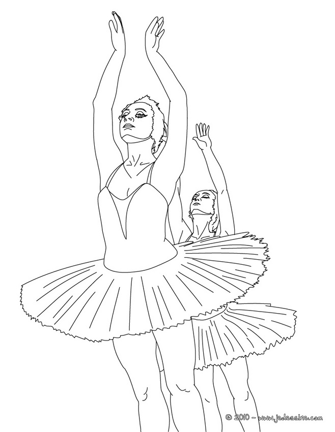 20 dessins de coloriage barbie danseuse toile imprimer - Dessin de barbie facile ...