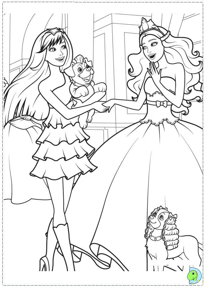19 dessins de coloriage barbie popstar imprimer - Barbie a colorier ...