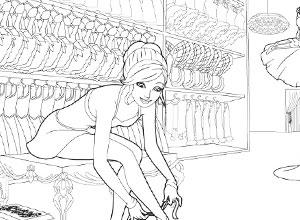 19 dessins de coloriage barbie popstar imprimer - Jeux de barbie popstar ...