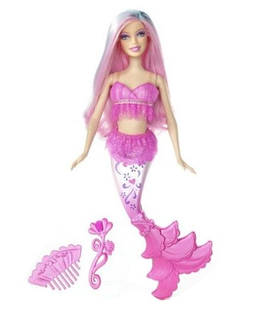 34 dessins de coloriage Barbie Sirène à imprimer
