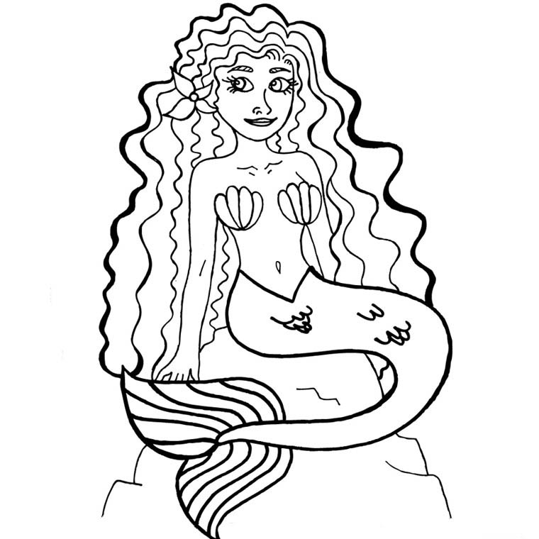 Dessin colorier magique barbie sirene - Dessin de barbie sirene ...