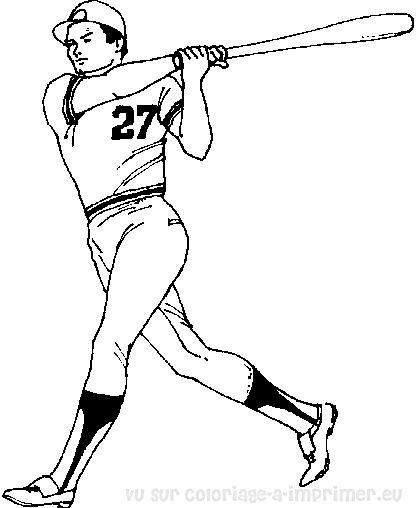 dessin de baseball