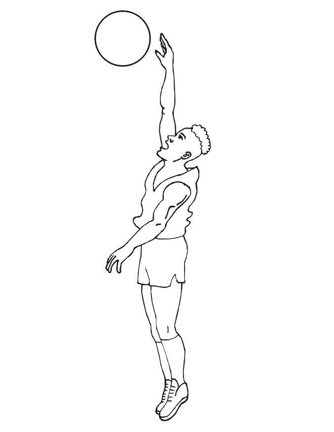 dessin basketball nba
