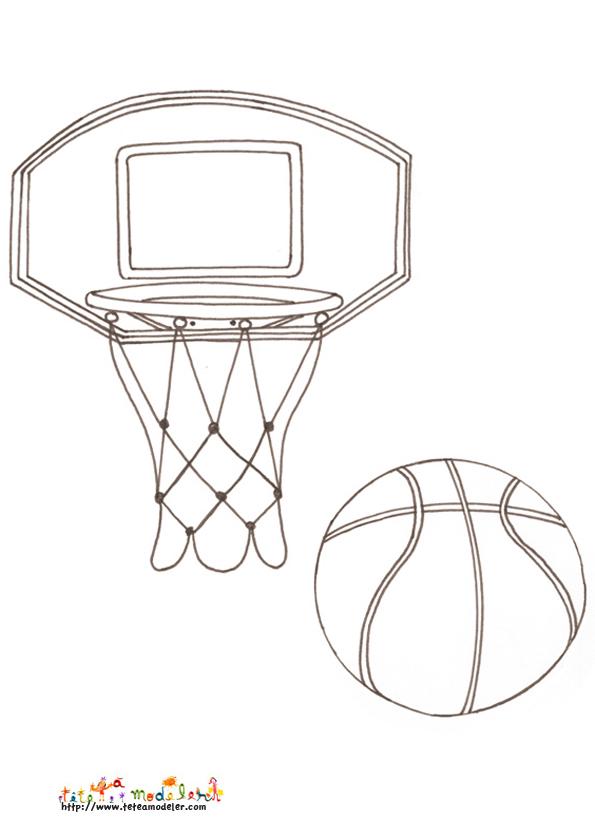 Dessin Basket Chaussure Colorier Les Enfants Marnfozinecom