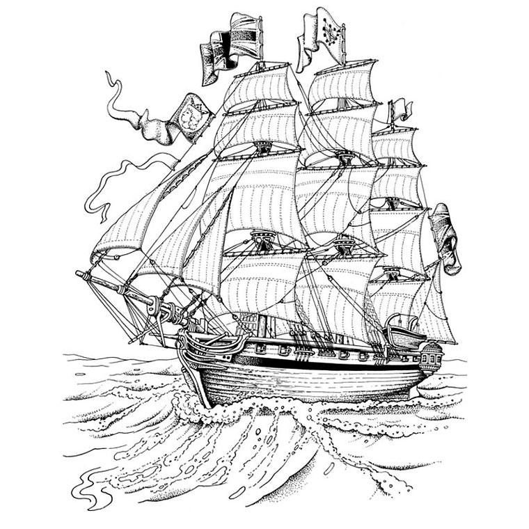 99 dessins de coloriage bateau de course  u00e0 imprimer
