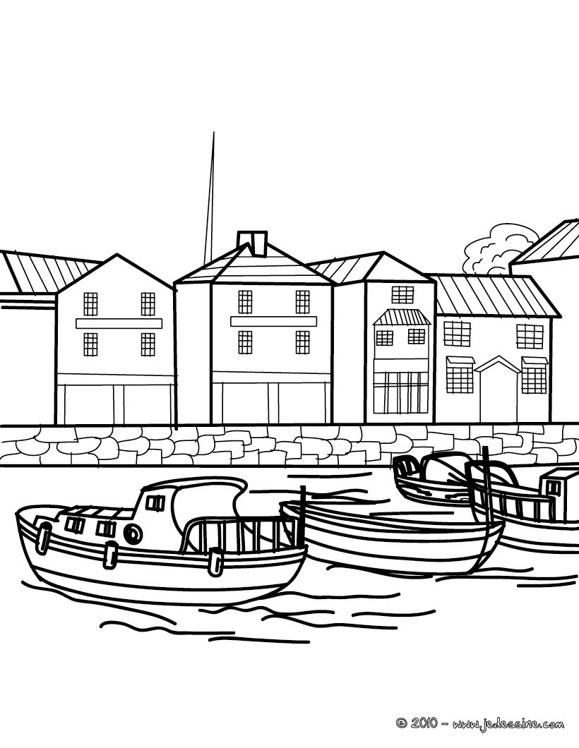 99 dessins de coloriage bateau en ligne imprimer. Black Bedroom Furniture Sets. Home Design Ideas