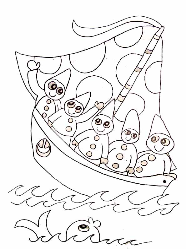 Coloriage bateau de course - Coloriage bateau a imprimer ...