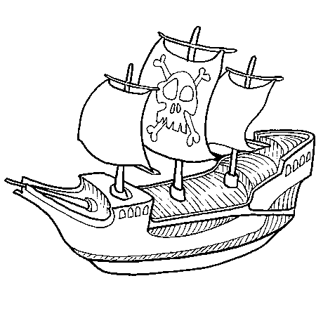 Dessin colorier bateau zodiac - Dessin ancre bateau ...
