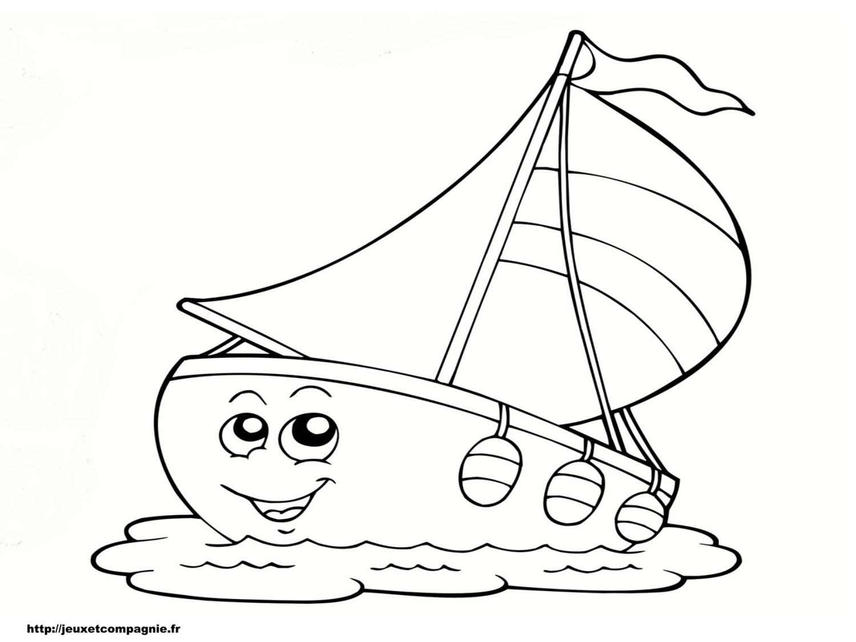 dessin avion bateau