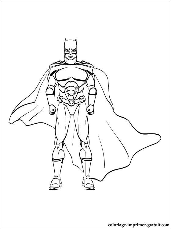4 dessins de coloriage batman imprimer imprimer - Batman a imprimer ...
