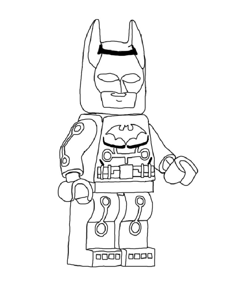 10 dessins de coloriage batman lego imprimer imprimer - Lego coloriage ...