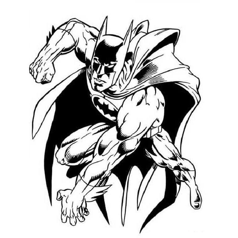 10 dessins de coloriage batman superman imprimer - Batman a imprimer ...
