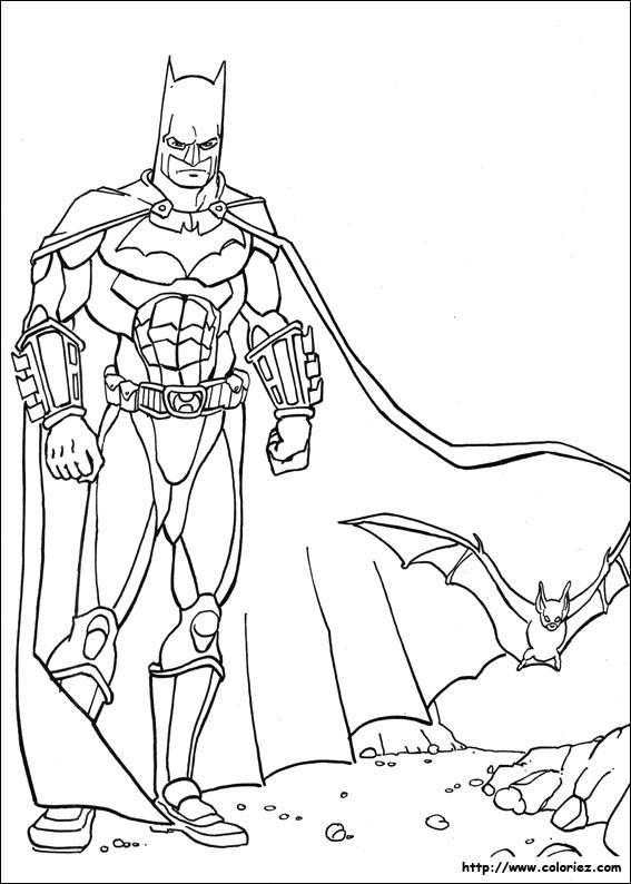 Coloriage Voiture Batman A Imprimer.Coloriage Voiture Batman A Imprimer