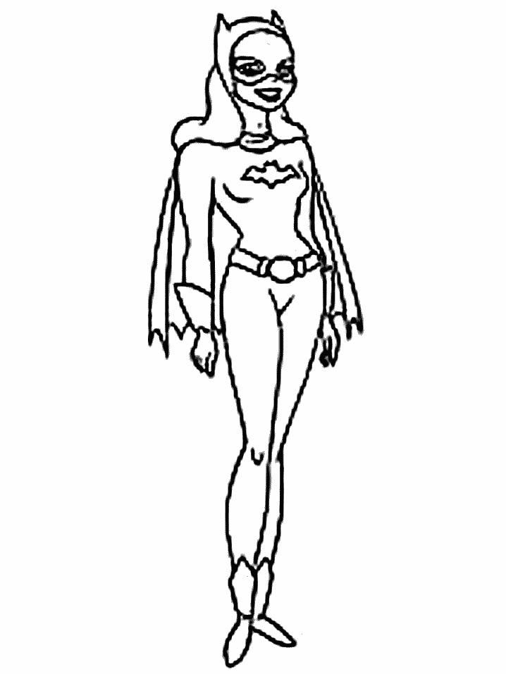 dessin à colorier masque batman imprimer